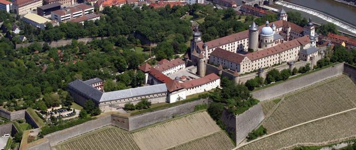 Luftbild Tagungszentrum Festung Marienberg